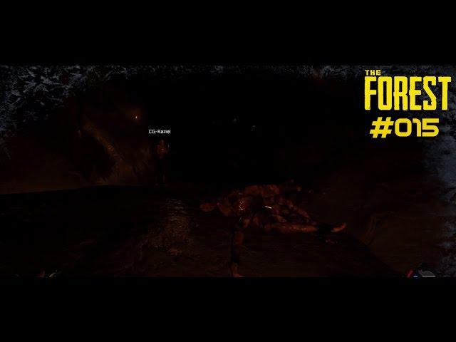 Let's Play The Forest | Höhle erfolgreich geplündert | Folge #015