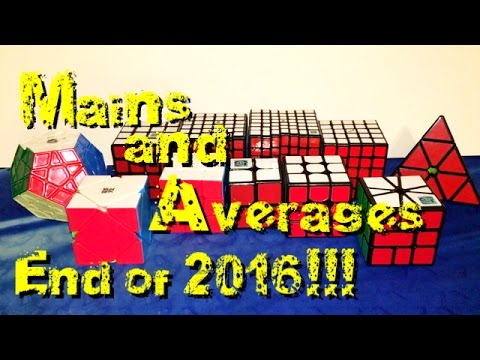 Mains and Averages End of 2016!!!