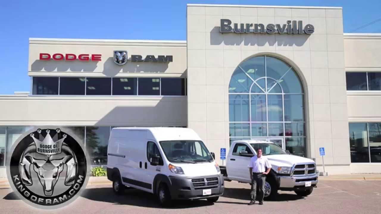 Commercial Vehicles In Burnsville Mn At Dodge Of Burnsville Ram
