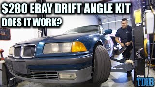 $280 Ebay DRIFT ANGLE KIT With Shocking Results! - Project DIRTE36 Ep.2
