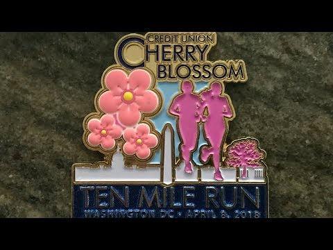 2018 DC Cherry Blossom 10 Mile Run and Review