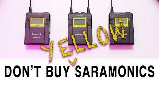 The Problem with the Saramonic UwMic9 System