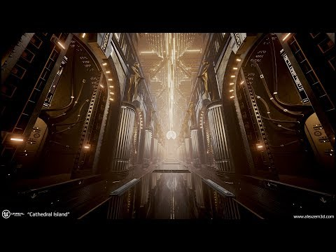 """Cathedral Island"" - UE4 project"