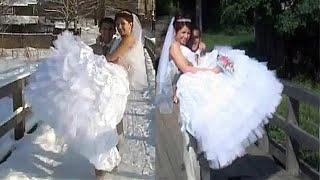 Свадебный клип.  Нет уж, лучше свадьба летом!