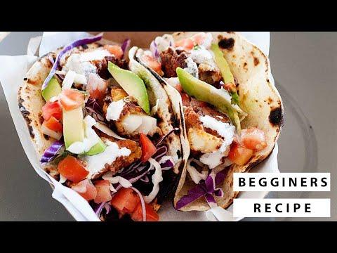 Baja Fish Tacos | Week 5 #TacoTuesday Cookbook Recipe!