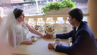 Греческий свадебный клип, красивая счастливая пара