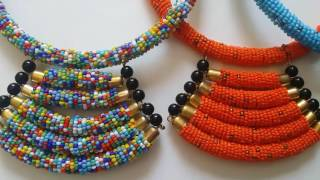 Africa masai Handmade necklace.