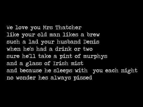 Mrs Thatcher Song