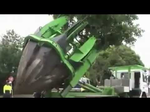 How To Plant a Tree By machine