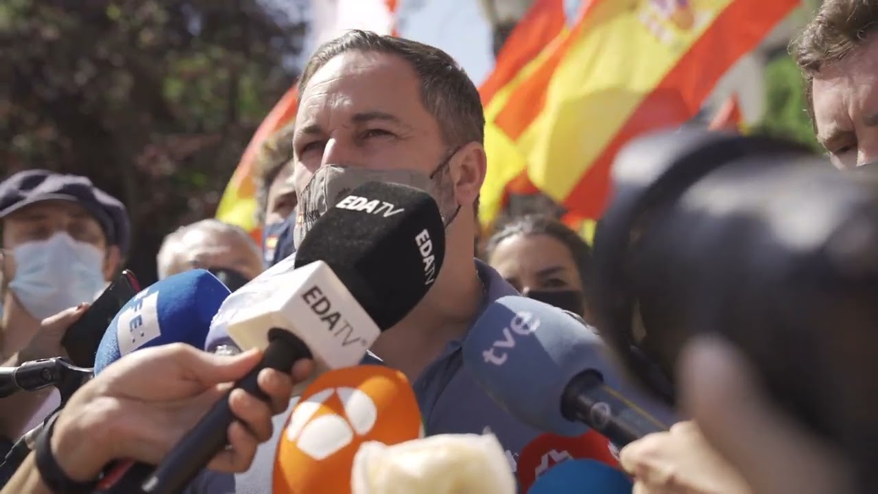 Declaraciones de Santiago Abascal el 13-J