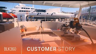 Leica BLK360 Reality Capture for Yacht Design: The Newport Yacht Collaborative