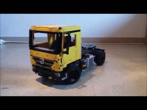 lego technic mercedes benz actros 3331 youtube. Black Bedroom Furniture Sets. Home Design Ideas