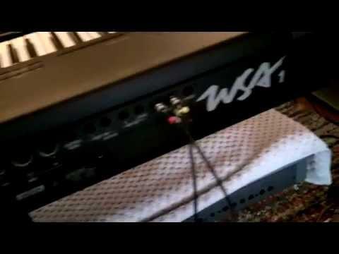 Korg JP8000 JP-8000 Review (Technics WSA1 WSA-1)