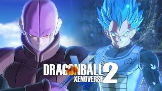 Dragon ball xenoverse 2 - hit vs ssb vegeta gameplay (1080p 60fps)
