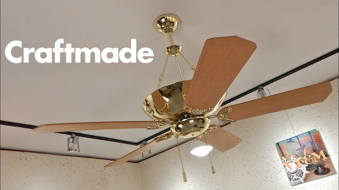 Interior Craft Made craftmade crescent ceiling fan 1080p hd remake youtube remake
