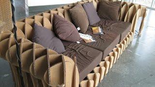 Мебель из картона и другие интересные идеи использовать картон