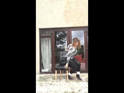 Ice bucket water challenge Flash Dance Style!!!!!