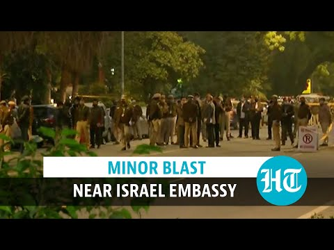 Watch: Minor IED Explosion Near Israel Embassy In Delhi, No Injuries Reported