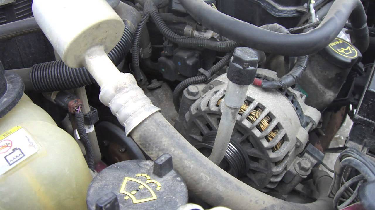 diy ford windstar freestar serpentine belt replacement