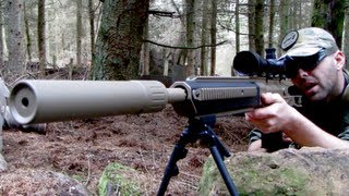 Airsoft Snipers Ashbury ASW, CheyTac M200 Section8 Scotland