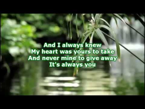 Kris Allen - It's Always You (Lyrics)
