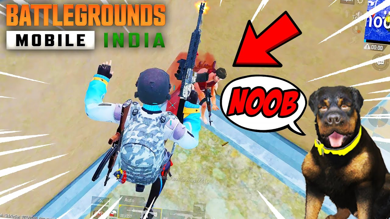 I TRIED BGMI with CHOP and BOB | PUBG Mobile - Battlegrounds Mobile India | VeryNuclear