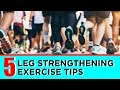 Get STRONGER legs FAST 🏃♂️ (5 Simple Exercises)
