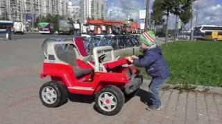 Электромобиль детский Peg Perego RANGER 538, гонки.Детский Jeep.(Все Видео Канала Denis Team: https://www.youtube.com/channel/UCMvY7cdcixCeKIirztdqwGw/videos Спасибо, что смотрите мое видео! Ставьте лайки!..., 2016-08-31T10:55:53.000Z)