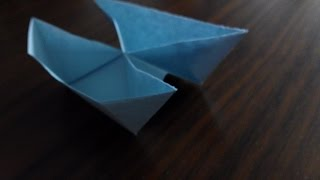 Como hacer un barco catamaran Origami3