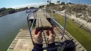 LRF rock fishing in mallorca