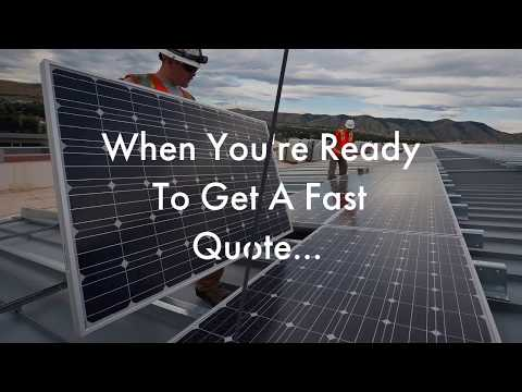 Solar Panel Installation Estimate San Diego