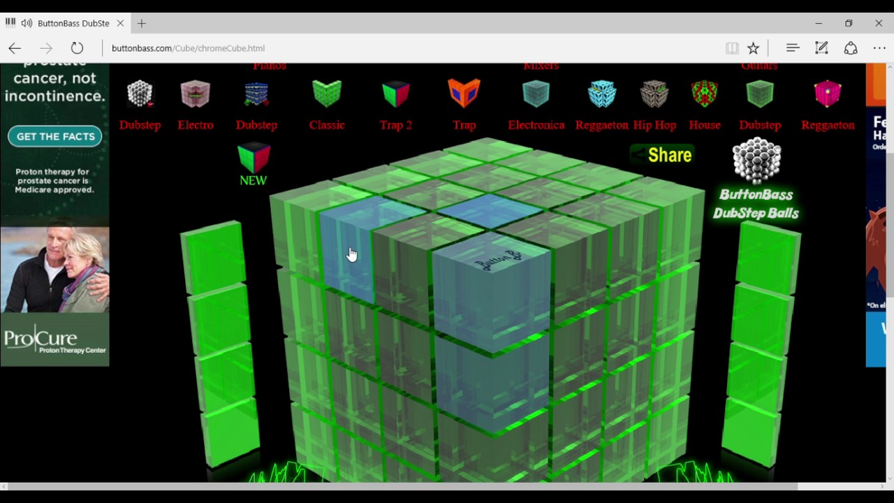 Image result for Dubstep cube