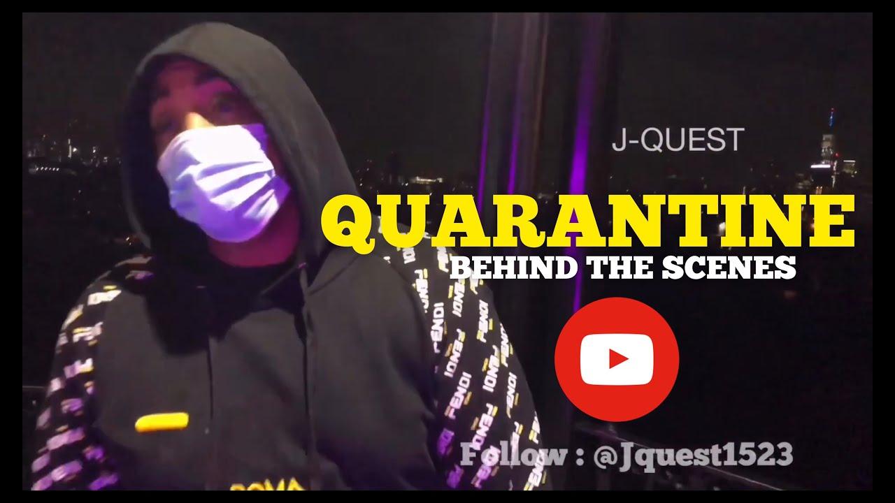 J-Quest - Quarantine featuring: Oun- P, Murda Mook & Ban Nation ( BEHIND THE SCENES)