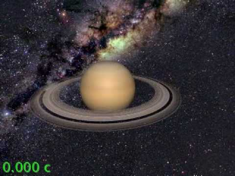 Speed of Light - Saturn