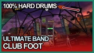 Ultimate Band - Club Foot FC 100% Drums Hard