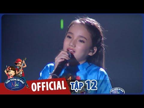 VIETNAM IDOL KIDS 2017 - TẬP 12 - CÔ BÉ VOI CON THẢO NGUYÊN DỪNG CHÂN TẠI TOP 5 TRONG TIẾC NUỐI