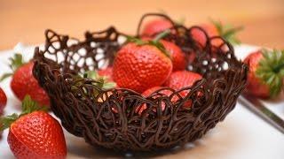 Çikolatadan Kase Yapımı  - Mutfaktayız