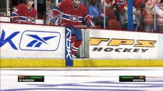 NHL 08 Playstation 3 Montreal Canadiens VS New York Rangers In Overtime