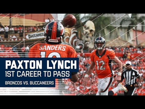 Paxton Lynch Throws 1st Career TD to Emmanuel Sanders | Broncos vs. Buccaneers | NFL