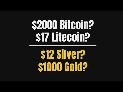 YES or NO?  $2000 Bitcoin $17 Litecoin $12 Silver $1000 Gold (Bo Polny)