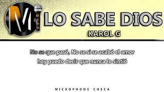 Karaoke lo sabe dios