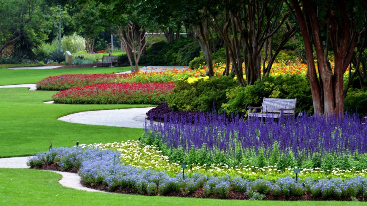 Summer At The Dallas Arboretum
