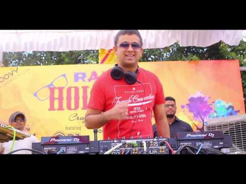 RANNG - Holi Fest 2017 with DJ PIYUSH BAJAJ @ Sandhya Convention