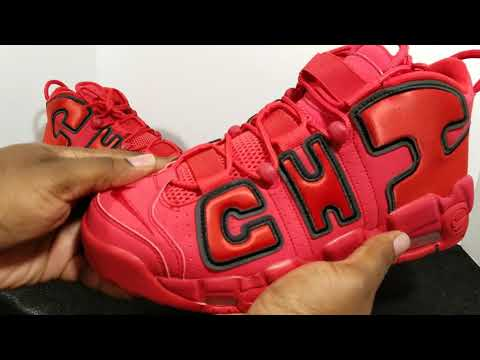 Nike Air More Uptempo Chicago Exclusive