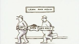 "Animated New Yorker Editorial Cartoon - Target ""Lean & Mean"""