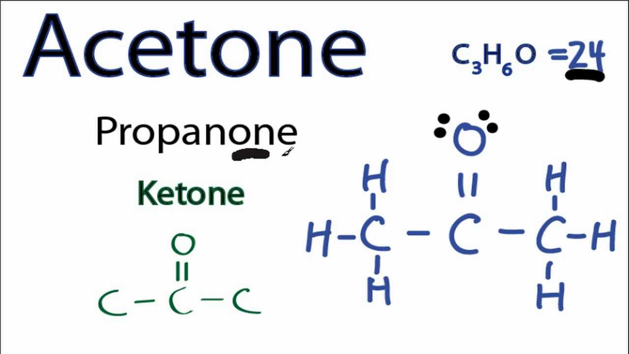 Acetone Lewis Structure