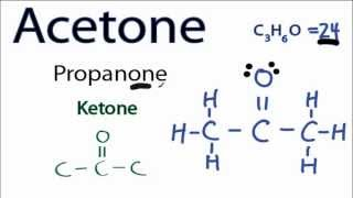 Acetone Lewis Structure: How to Draw the Lewis Structure for Acetone
