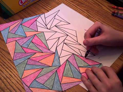 coloring with crayons asmr re upload youtube