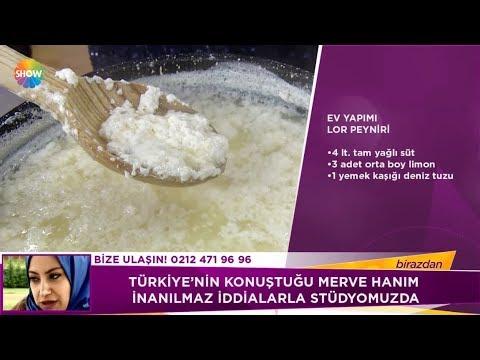 ev yapımı lor peyniri tarifi