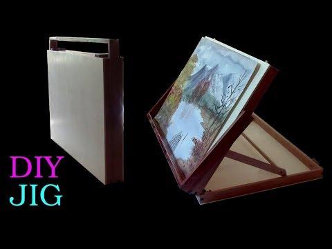 DIY JIG - INCREDIBLE TABLE BOX EASEL